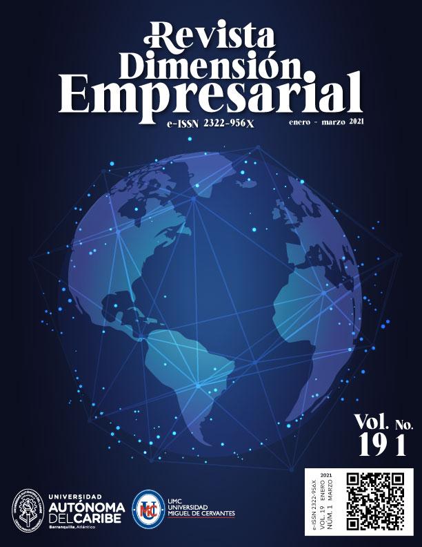 View Vol. 19 No. 1 (2021): Dimensión Empresarial